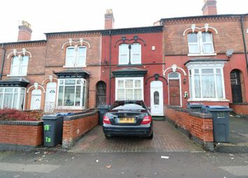 Thumbnail 3 bed terraced house for sale in Grove Lane, Handsworth, West Midlands