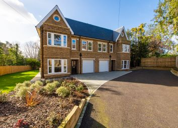 Thumbnail 5 bed semi-detached house for sale in Willowcroft, Leatherhead Road, Oxshott, Leatherhead