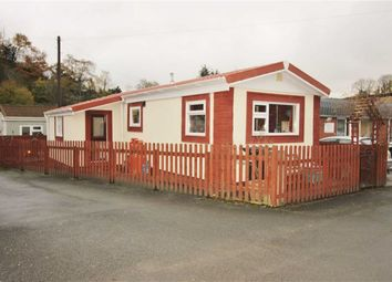 Thumbnail 1 bed mobile/park home for sale in 14, The Quarry, Brook Street, Welshpool, Powys