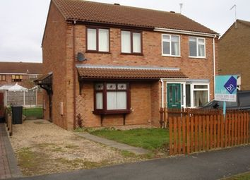 Thumbnail 2 bed semi-detached house to rent in West Road, Ruskington