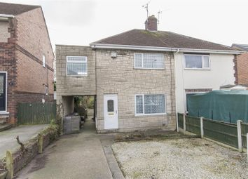 Thumbnail 3 bed semi-detached house for sale in Houfton Road, Bolsover, Chesterfield