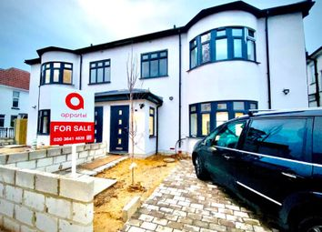 Thumbnail 5 bed semi-detached house for sale in Eton Avenue, Wembley, London