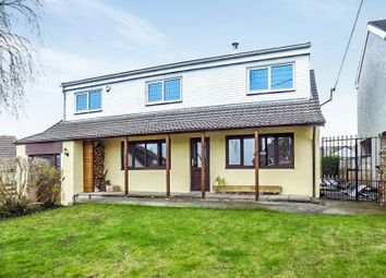 Thumbnail 5 bed detached house for sale in Y Llys Gellifedi Road, Brynna, Pontyclun.
