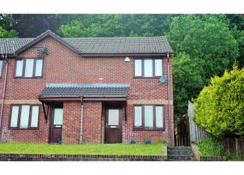Thumbnail 2 bedroom end terrace house to rent in Ffynnon Wen, Clydach