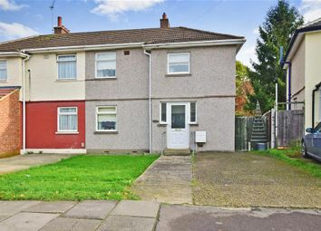 Thumbnail 3 bed semi-detached house for sale in Crown Road, Ilford, Essex