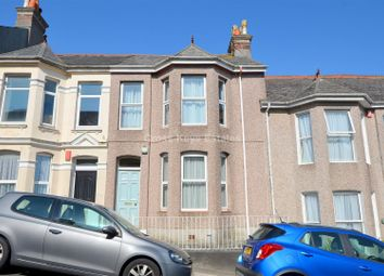Thumbnail 3 bed terraced house for sale in Cecil Avenue, Plymouth