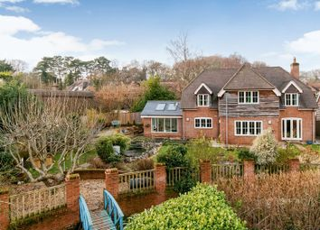 Thumbnail 5 bed detached house for sale in Newtown Road, Awbridge, Romsey