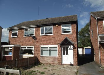 Thumbnail 3 bed semi-detached house to rent in Long Street, Stapenhill, Burton On Trent