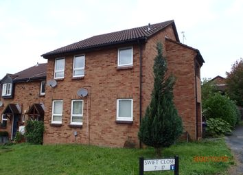 Thumbnail 1 bed flat to rent in Swift Close, Letchworth