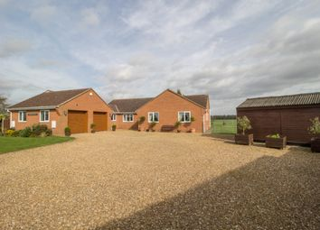 Thumbnail 4 bed bungalow for sale in Lutton Gowts, Lutton, Spalding