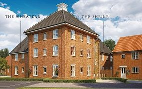 Thumbnail 2 bed flat for sale in Butterfield Meadow, Hunstanston, Norfolk