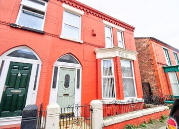 Thumbnail 3 bed end terrace house for sale in Barrington Road, Wavertree, Liverpool