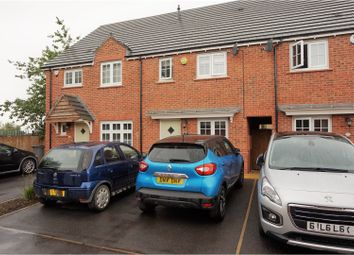 Thumbnail 2 bed town house for sale in Bentley Close, Leicester