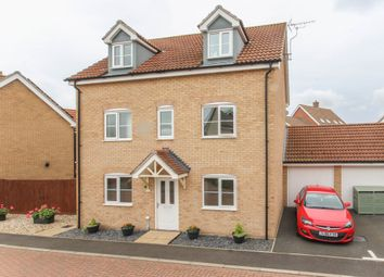 Thumbnail 5 bed detached house for sale in Maidenhair Way, Red Lodge, Bury St. Edmunds