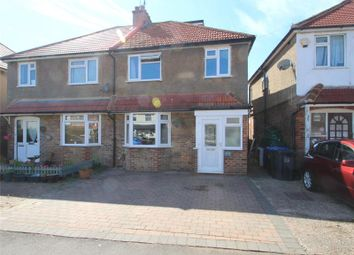 Thumbnail 3 bed semi-detached house for sale in First Avenue, Lancing, West Sussex
