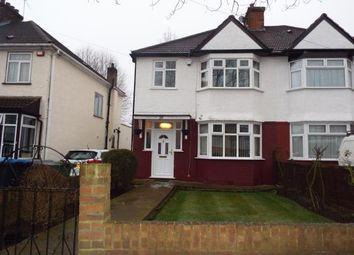 Thumbnail 3 bed semi-detached house for sale in Deanscroft Avenue, London