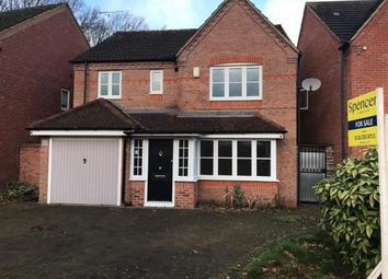 Thumbnail 4 bed detached house for sale in Rockery Close, Leicester, Leicestershire