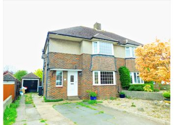 Thumbnail Semi-detached house for sale in Hawkins Road, Shoreham-By-Sea