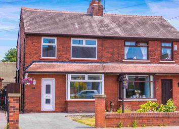 Thumbnail 3 bed semi-detached house to rent in Warrington Road, Leigh, Manchester, Greater Manchester