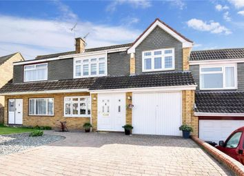 Thumbnail 4 bed terraced house for sale in Flowerhill Way, Istead Rise, Kent