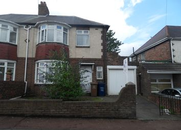 Thumbnail 3 bed semi-detached house to rent in Fenham Hall Drive, Fenham, Newcastle Upon Tyne
