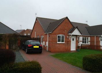Thumbnail 2 bedroom semi-detached bungalow for sale in Maple Grove, Heckington, Sleaford, Lincolnshire