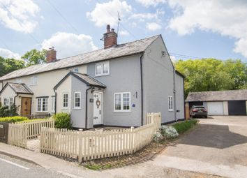 Thumbnail 3 bed end terrace house for sale in Hempstead Road, Steeple Bumpstead, Haverhill