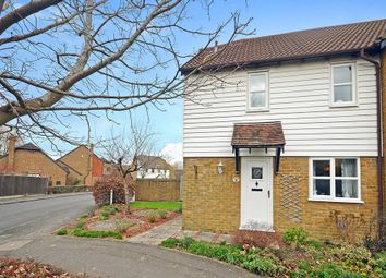 Thumbnail 1 bed end terrace house for sale in The Bulrushes, Singleton, Ashford
