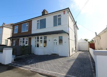 Thumbnail 3 bed semi-detached house for sale in Bowden Park Road, Plymouth