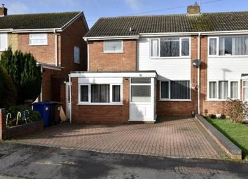 3 bed semi-detached house for sale in Rochester Avenue, Burntwood, Staffordshire WS7