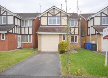 Thumbnail 3 bedroom detached house for sale in Taverners Crescent, Littleover, Derby