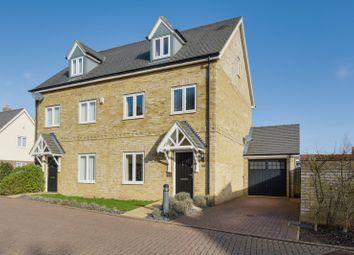 3 bed semi-detached house for sale in School Lane, Sawbridgeworth, Hertfordshire CM21
