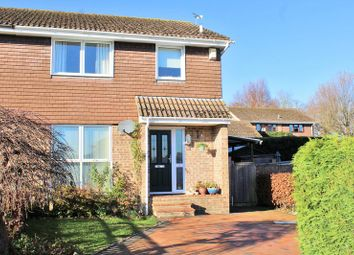 Thumbnail 3 bed semi-detached house for sale in Barnes Close, West Wellow, Romsey