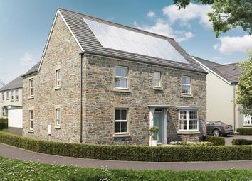 """Thumbnail 4 bed detached house for sale in """"Layton"""" at Butcher Park Hill, Tavistock"""