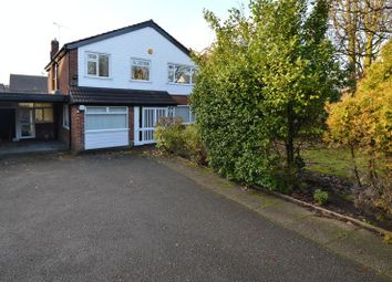 Thumbnail 4 bed detached house for sale in Higher Lane, Whitefield, Manchester
