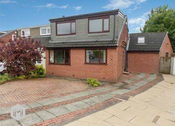 Thumbnail 4 bed semi-detached house for sale in Heaton Avenue, Little Lever, Bolton, Lancashire