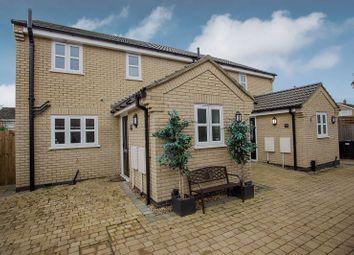 Thumbnail 3 bed semi-detached house for sale in Gala Close, Stilton, Peterborough, Cambridgeshire.