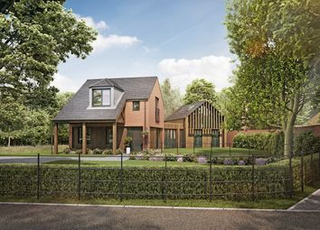 Thumbnail 3 bed detached house for sale in Culcheth Hall Drive, Culcheth, Warrington