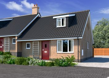 Thumbnail 2 bedroom semi-detached house for sale in Plot 2 Kells Way, Geldeston, Beccles