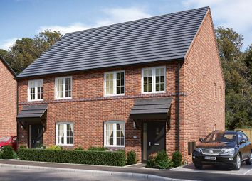 Thumbnail 3 bed semi-detached house for sale in Plot 9 Danetre Place, Daventry