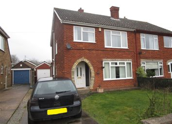 Thumbnail 3 bed semi-detached house for sale in Eastbrook Road, Lincoln