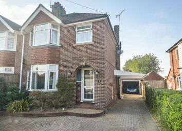 Thumbnail 3 bed semi-detached house for sale in Sandyhurst Lane, Ashford, Kent