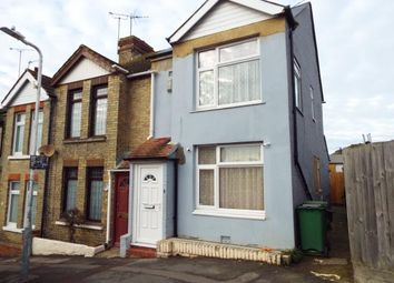 Thumbnail 2 bed end terrace house for sale in Edward Road, Folkestone, Kent, England