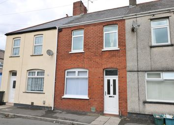 Thumbnail 2 bed terraced house for sale in Llanvair Road, Newport