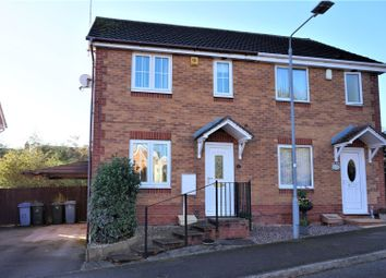 Thumbnail 2 bed semi-detached house for sale in Goldcrest Rise, Worksop
