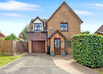 Thumbnail 3 bed detached house for sale in Standen Way, St Andrews Ridge, Swindon, Wiltshire