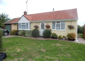 Thumbnail 2 bed detached bungalow for sale in 44 Bevills Close, Doddington, March, Cambridgeshire