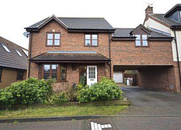 Thumbnail 4 bedroom link-detached house for sale in Berrington Grove, Westcroft, Milton Keynes