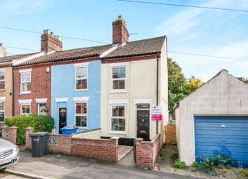 Thumbnail 3 bedroom end terrace house for sale in Primrose Road, Norwich