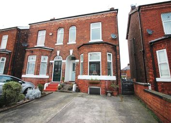 Thumbnail 4 bed semi-detached house for sale in Church Road, Urmston, Manchester